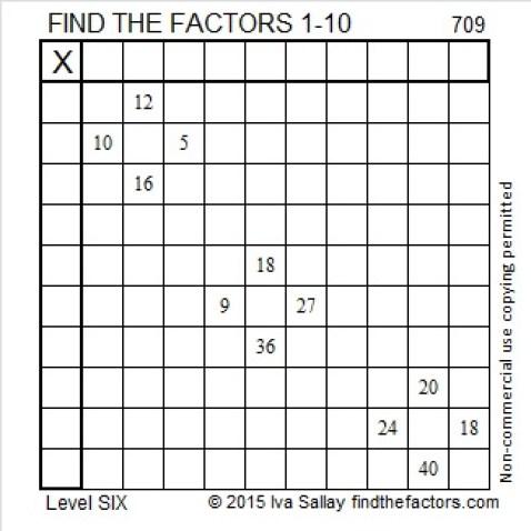 709 Puzzle