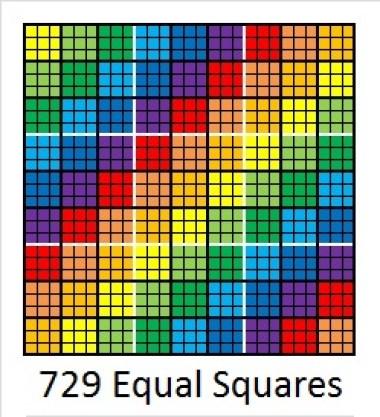 729 Equal Squares