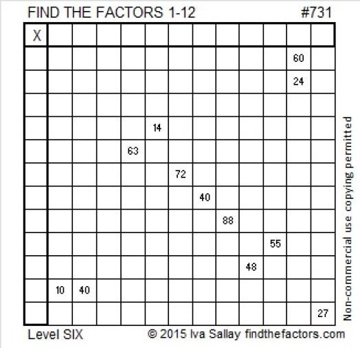 731 Puzzle
