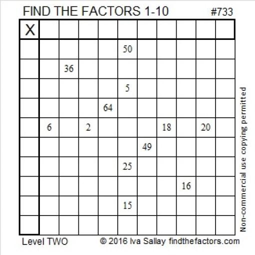 733 Puzzle