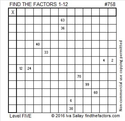 758 Puzzle