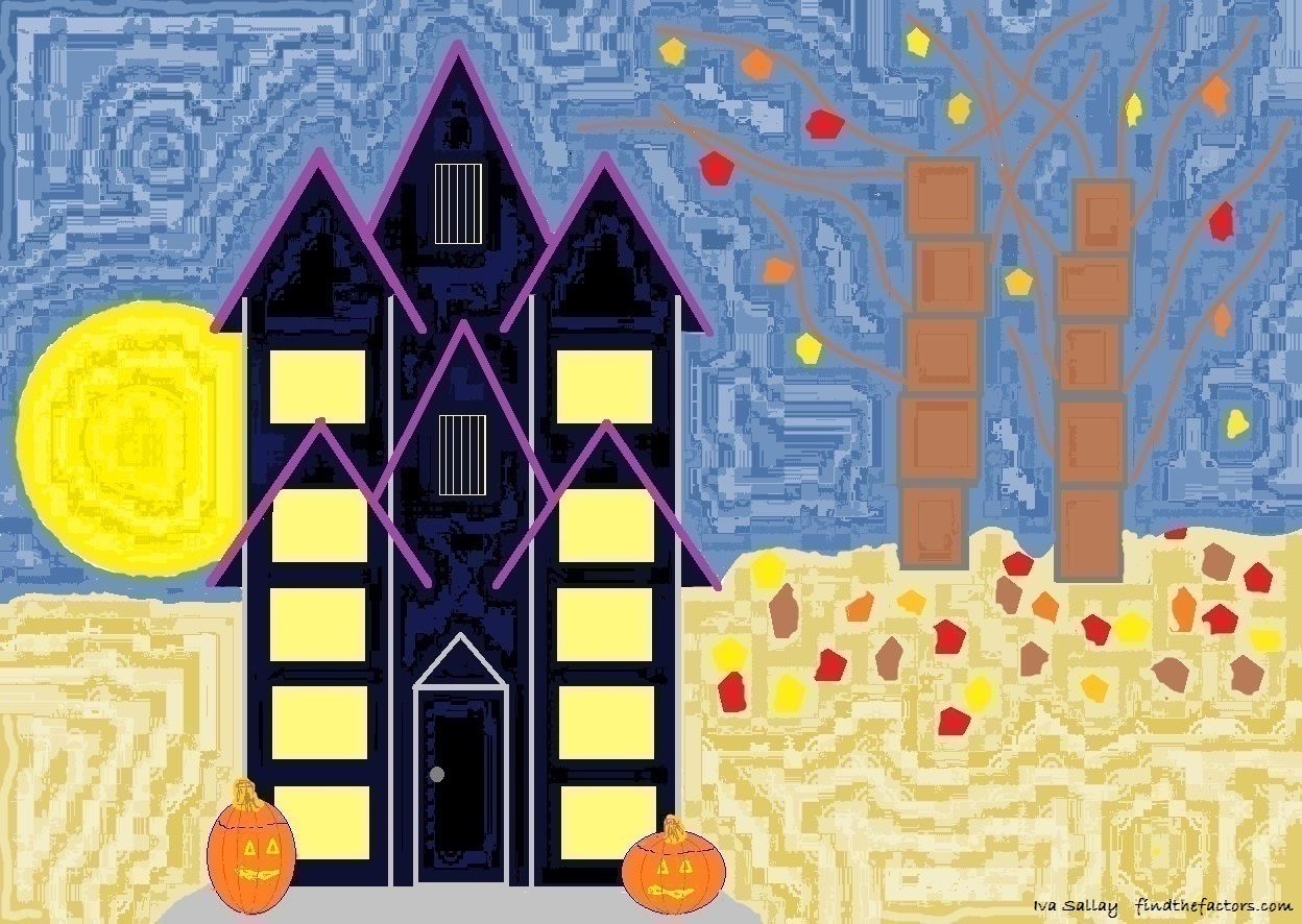 913 Haunted Ten Frame House For Ten Timid Ghosts