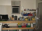 My rudimentary kitchen