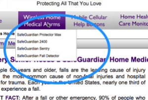 Wireless Home Medical Alert Alarm Systems