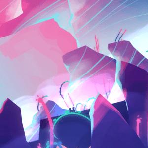 Faerie Afterlight landscape