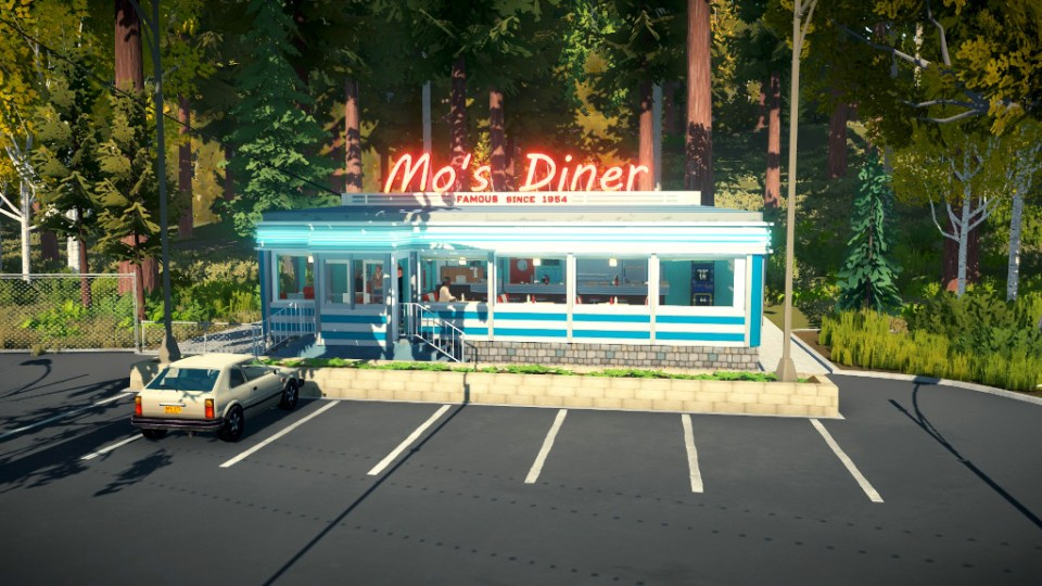 Mo's Diner - only the best blueberry pie in town!