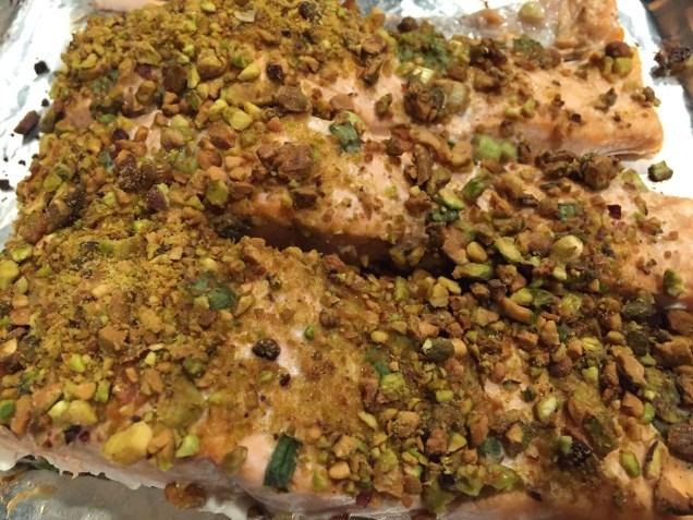 pistachio-crusted-salmon-selfie