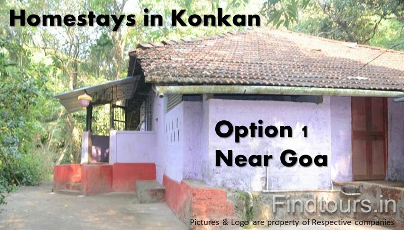 Homestays in Konkan - Option 1 Near Goa