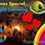 Valentines Special Overnight Camping - FREE movie