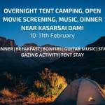 Camping with Movie – First time in Pune