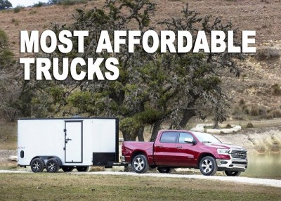 Read more about the article 5 Most Affordable Trucks in 2021 | Best Value Pickup Truck!