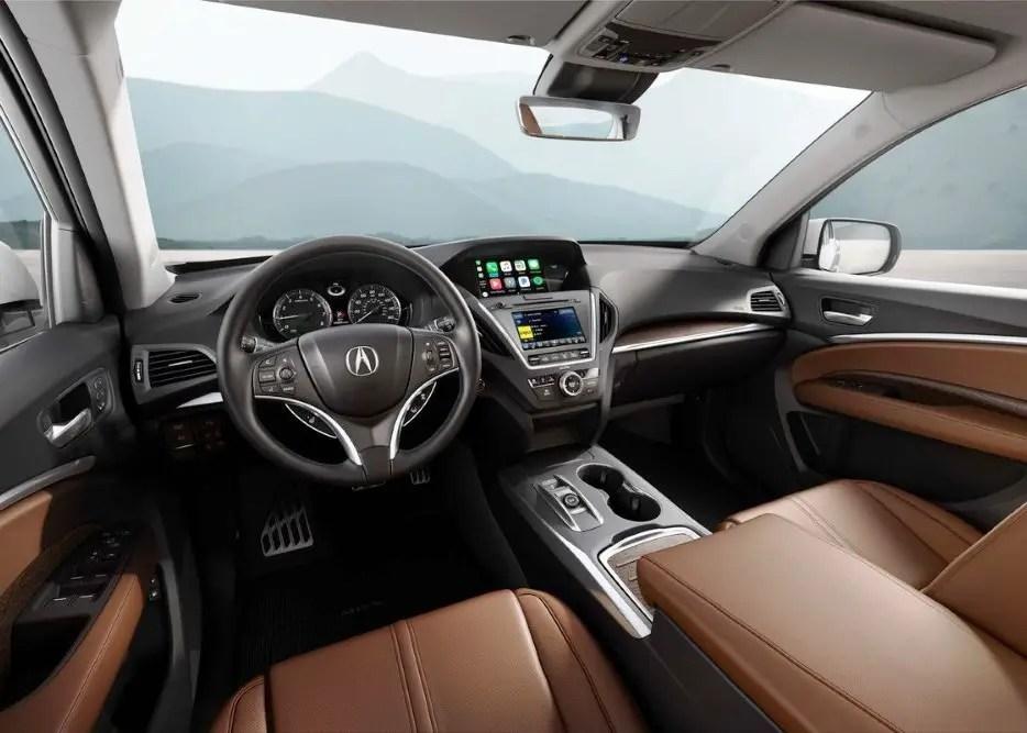 2020 Acura MDX Interior Images