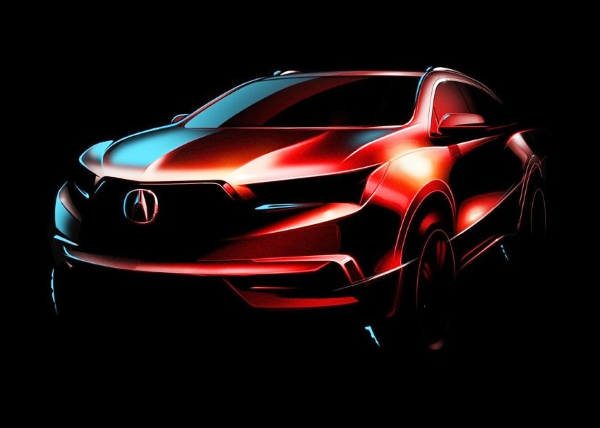 2020 Acura MDX Redesign Concept