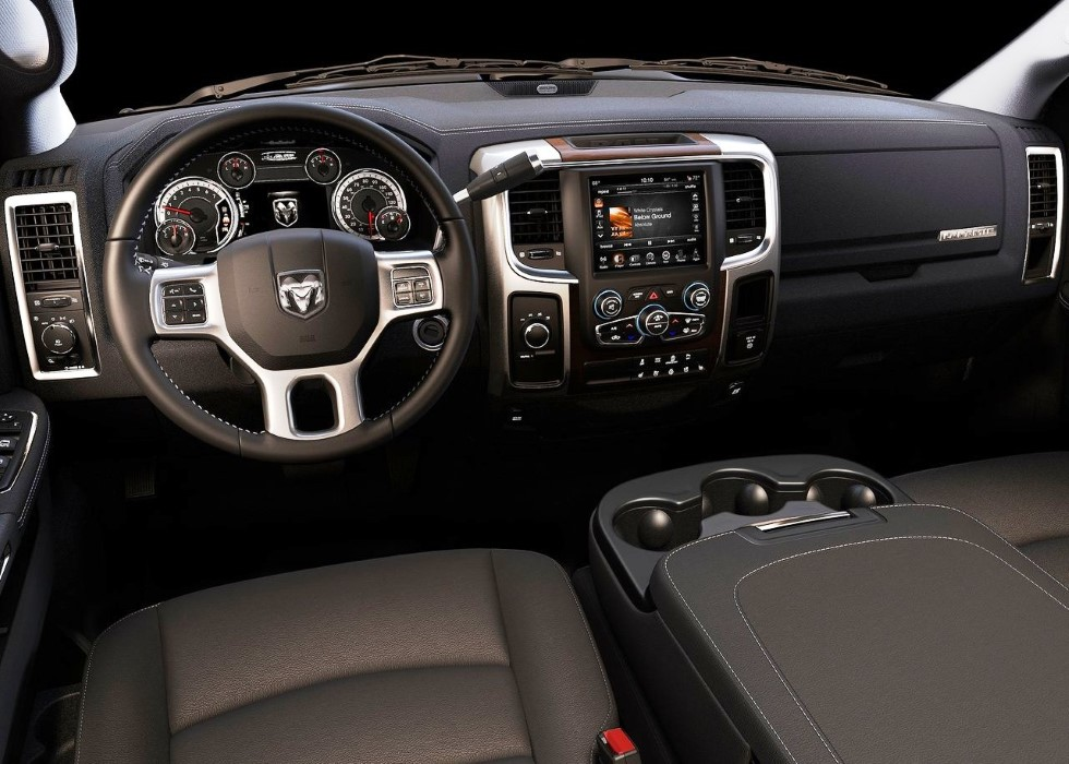 2020 RAM 2500 Dually Creaw Cab Interior Changes