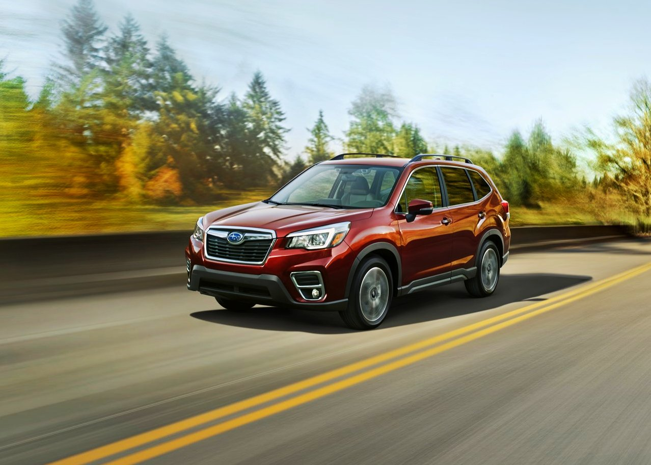 2020 Subaru Forester Colors & Trims Options