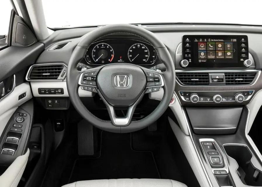 2020 Honda Accord Interior Features
