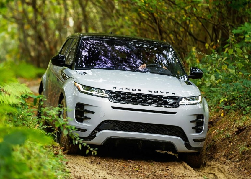 2020 Range Rover Evoque Off-Road Capability