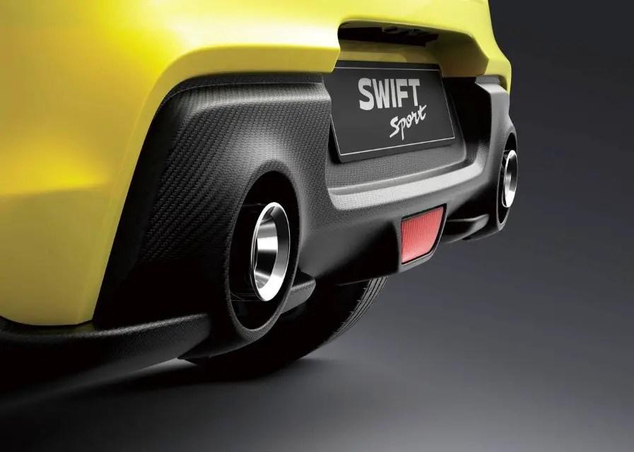 2020 Suzuki Swift Sport Changes
