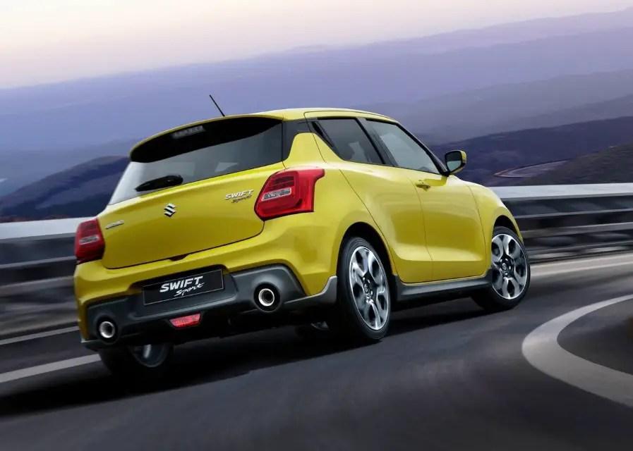 2020 Suzuki Swift Sport Redesign & Changes