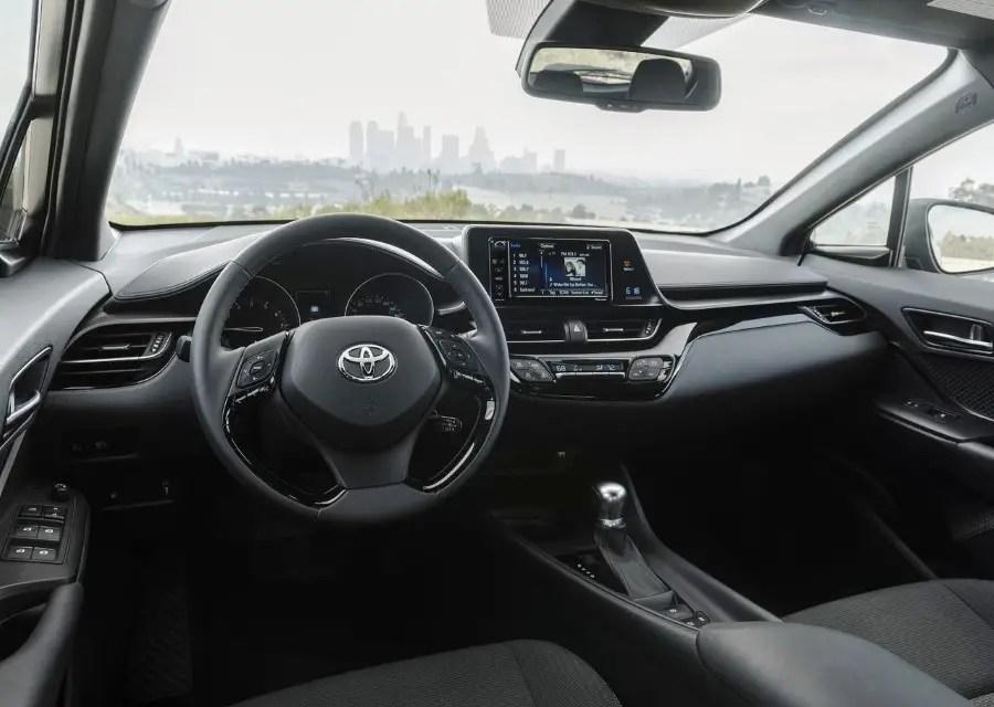 2020 Toyota C-HR Hybrid Interior & Features