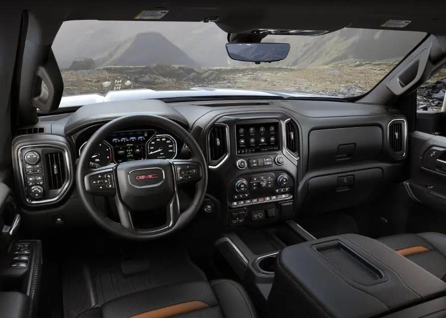 2020 GMC Truck Interior Features & Concept