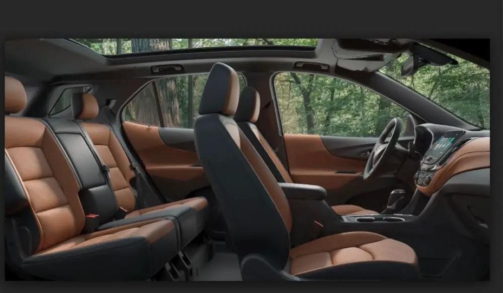 2020 Chevy Equinox Seat Capacity
