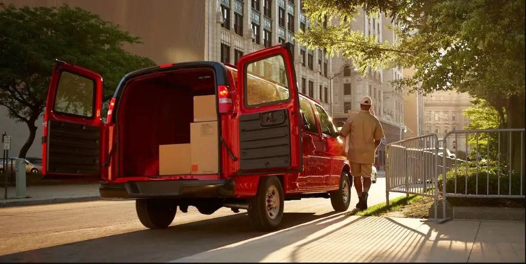 2020 Chevy Express MPG & Horsepower