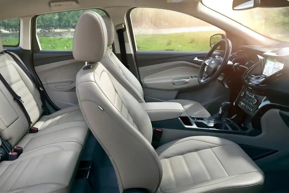 2020 Ford Escape Interior & Seating Capacity
