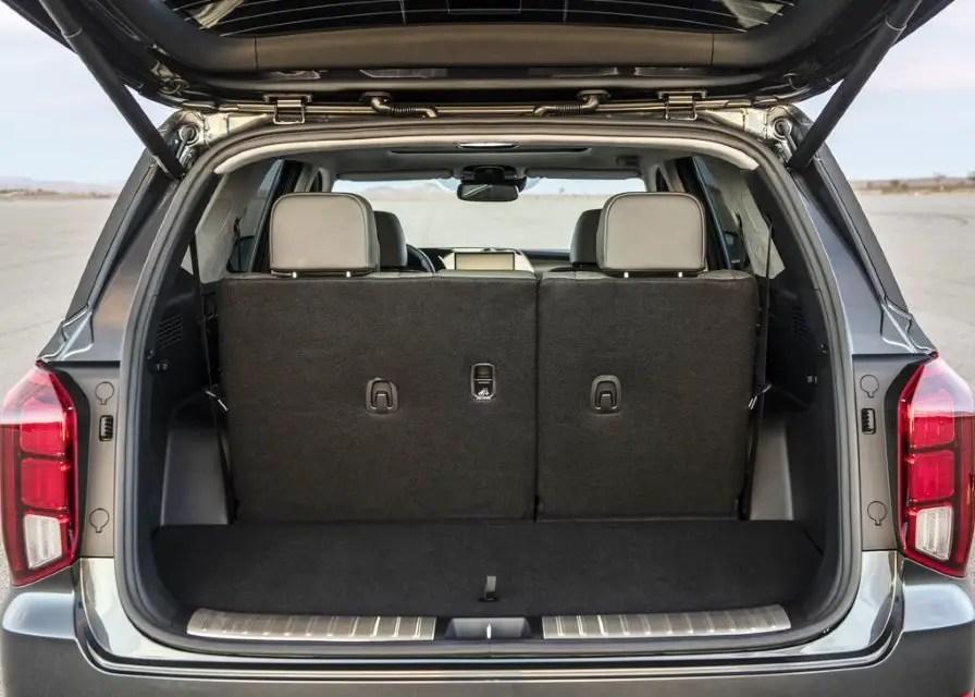 2020 Hyundai Palisade Trunk Capacity