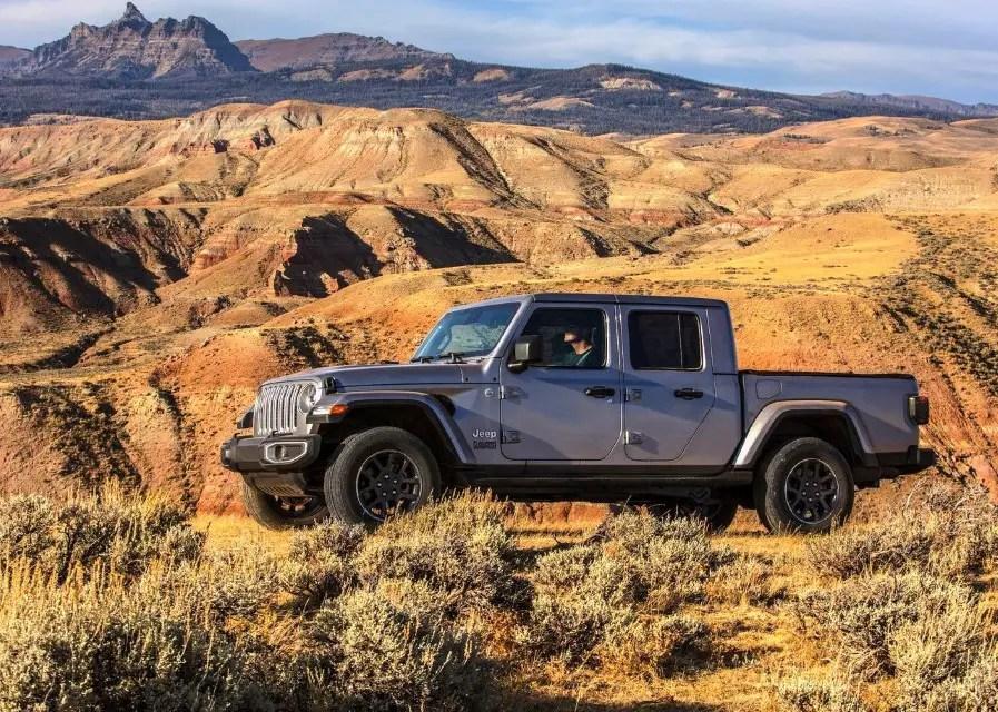 2020 Jeep Gladiator Wrangler Pickup Review