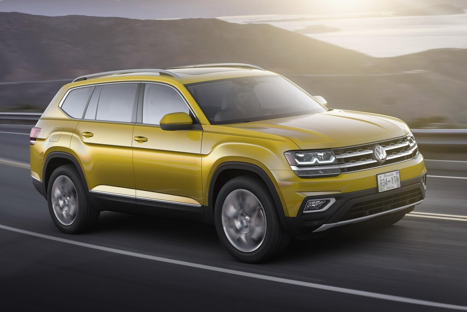 2020 VW Atlas 2.0t Specifications