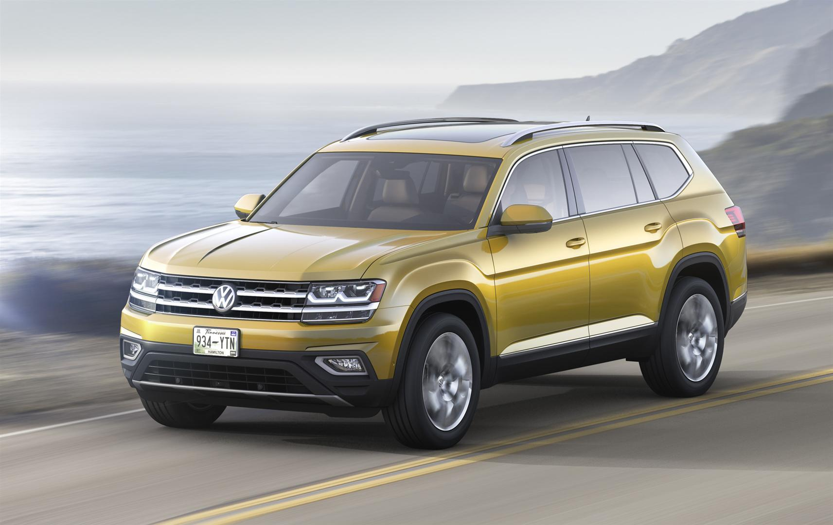 2020 VW Atlas Redesign and Updates