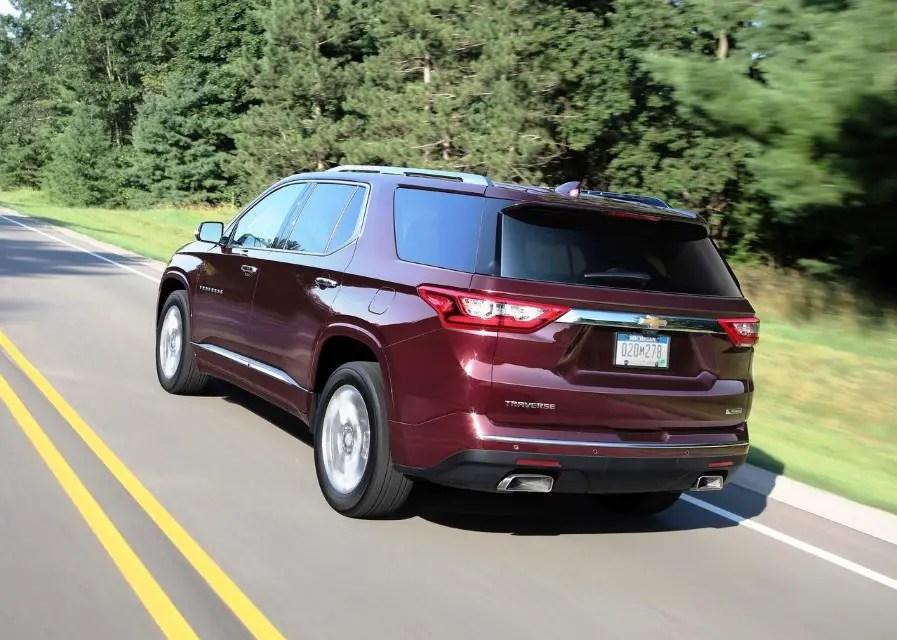 2020 Chevy Traverse Fuel Economy