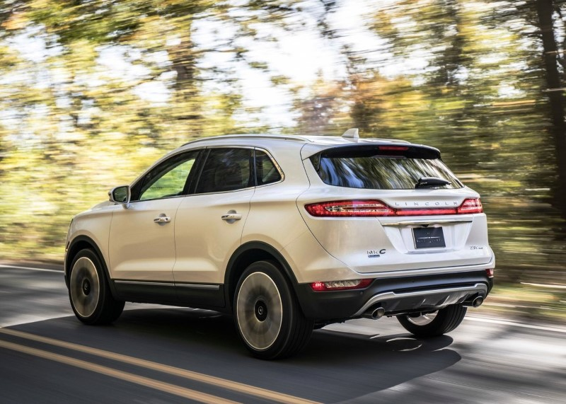 2020 Lincoln MKC Corsair Dimensions