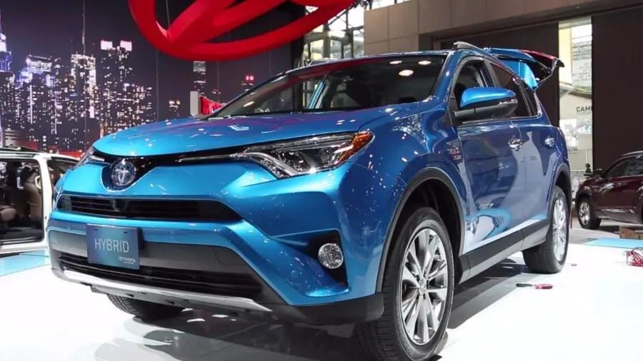 2019 Toyota RAV4 Hybrid Blue Colors
