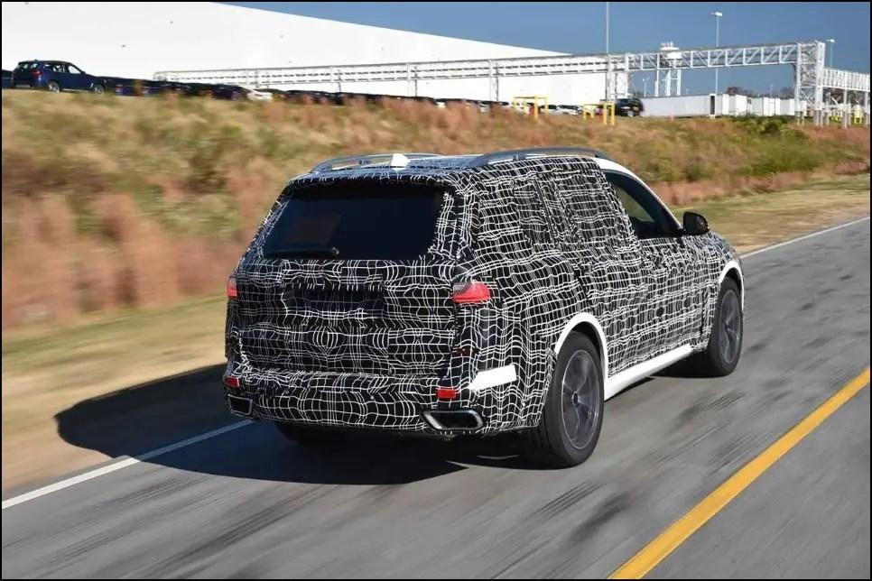 2020 BMW X8 Spy Photos
