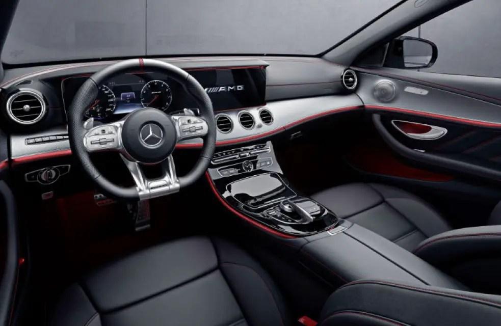 2020 Mercedes E300e Interior