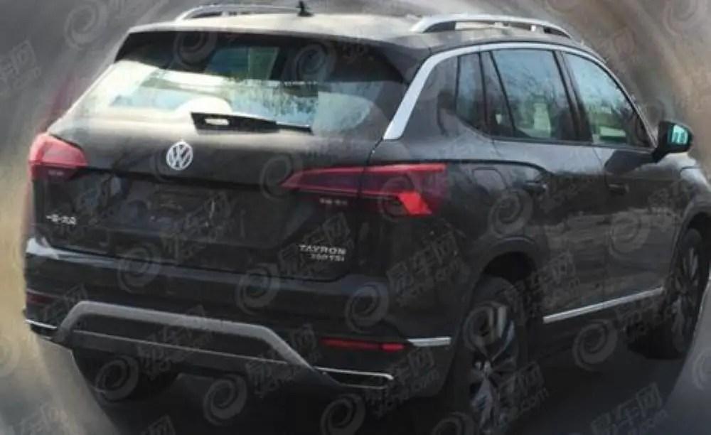 2020 VW Tayron Teaser Images