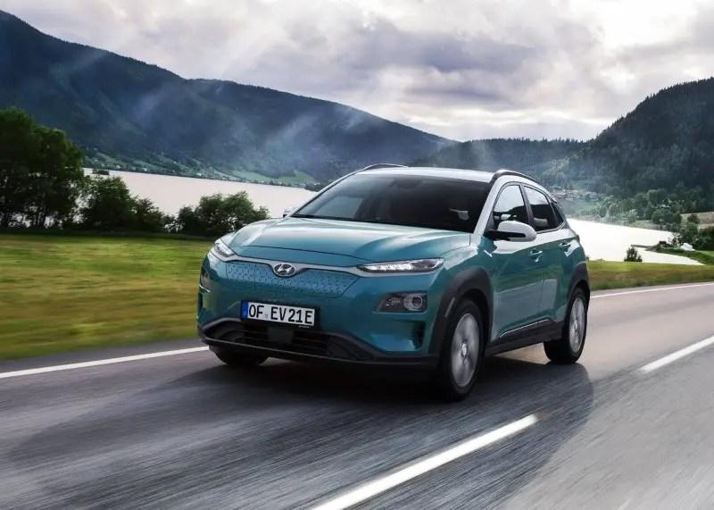 Best Electric SUV - 2020 Hyundai Kona Electric