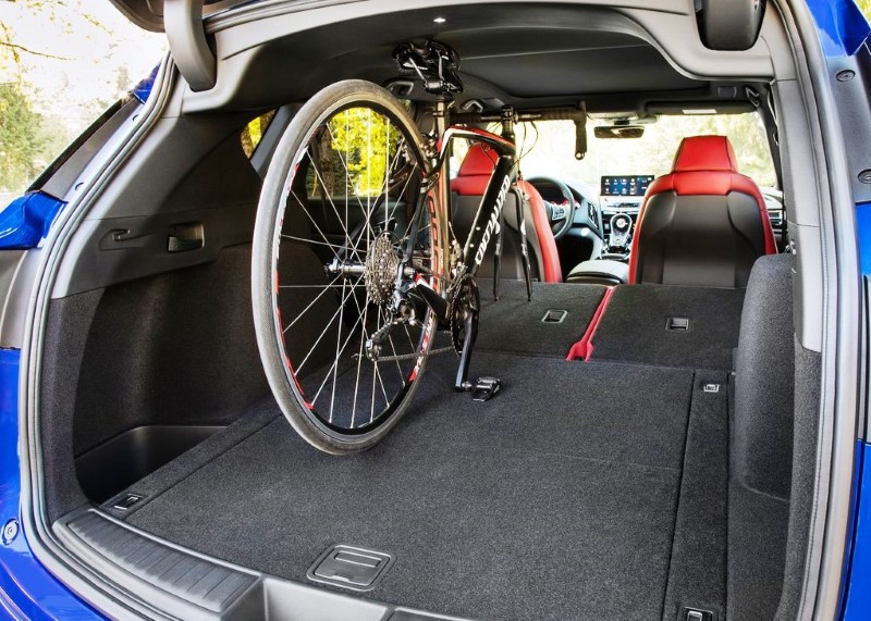 2020 Acura RDX Trunk Capacity - SUV that Can fit a bike