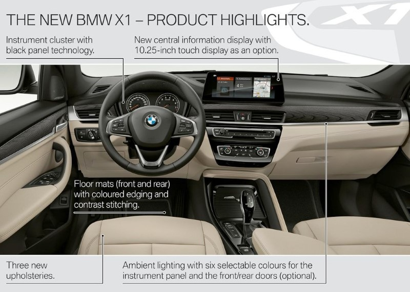 2020 BMW X1 Interior Features