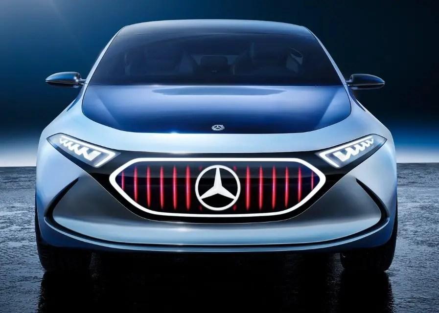 2020 Mercedes EQA Concept Geneva Motor Show