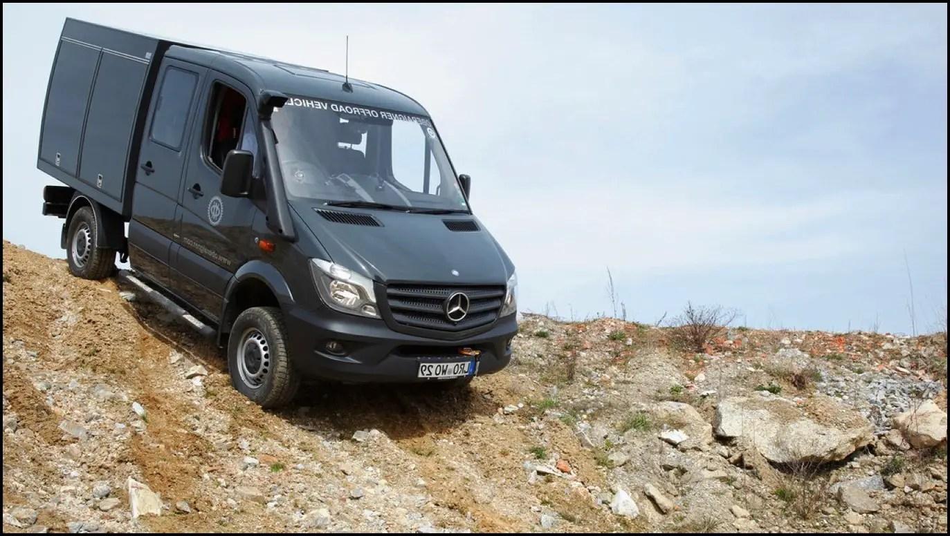 2020 Mercedes Sprinter 4X4 Camper Van Performance