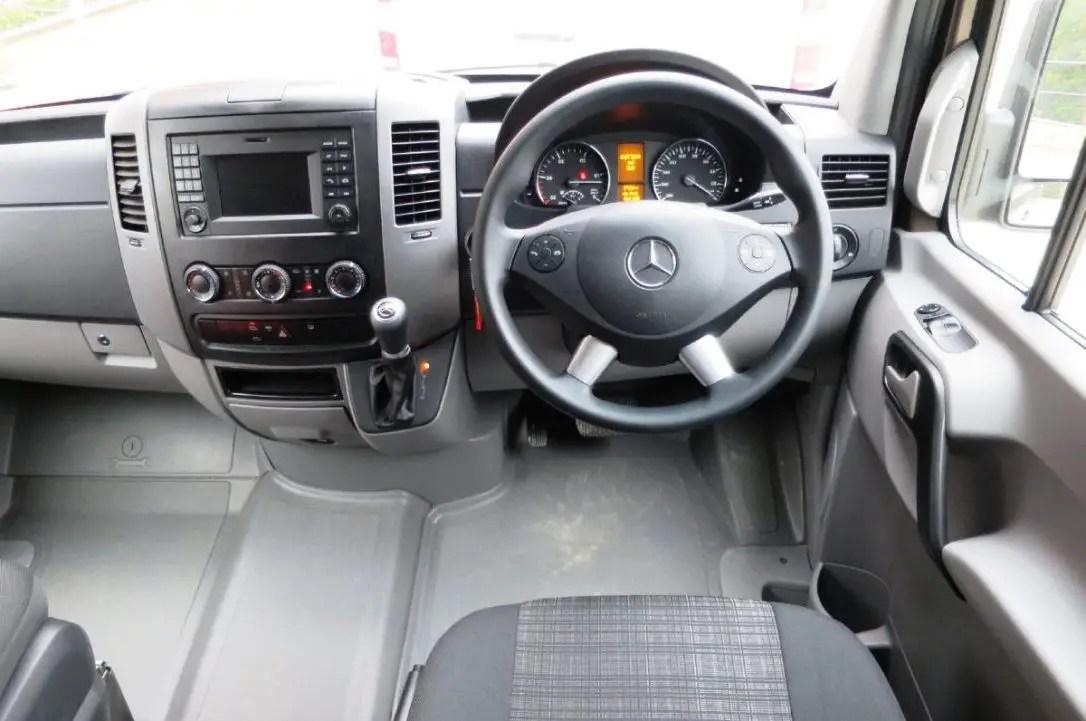 2020 Mercedes Sprinter 4X4 Interior Features With Adaptive ESP
