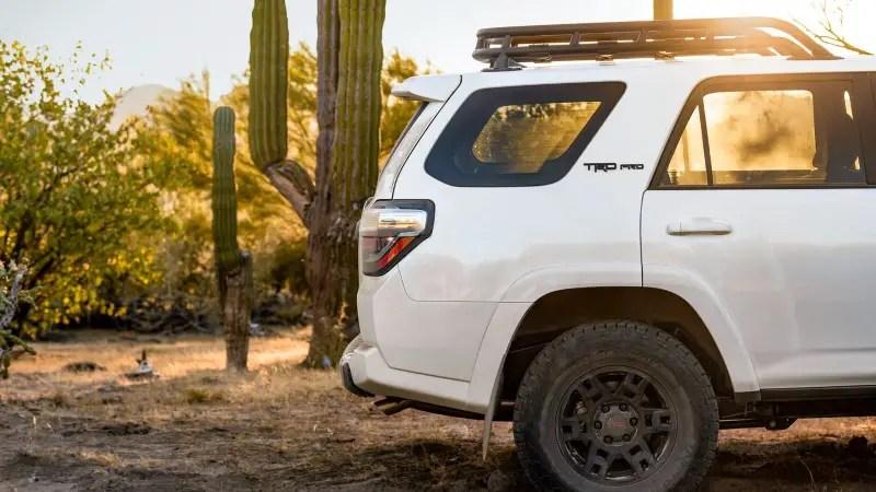 2020 Toyota 4Runner Wheel Size
