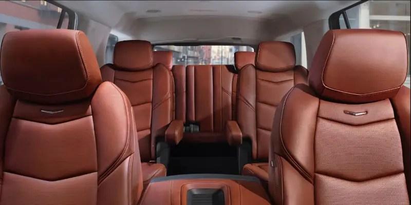 2020 Cadillac Escalade Interior Passenger Capacity