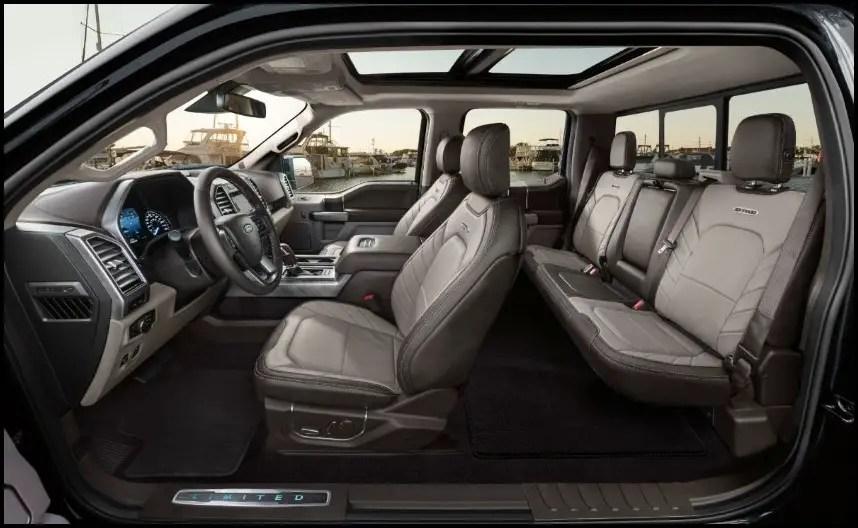2020 Ford Raptor Interior Seating Capacity
