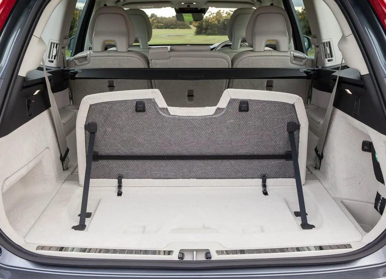 2020 Volvo XC60 Trunk Capacity