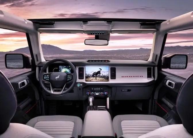 Ford Bronco 4-Door Interior