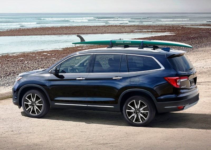 New Honda Pilot 2020 Color Color Trims